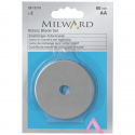 Milward Rotary Cutter 60mm Replacement Blades x 2