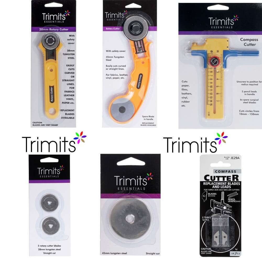Trimits Compass Cutter Replacement Blades x 1