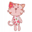 33. Floral Kitty