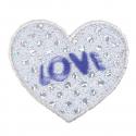Sequin Love Heart