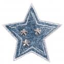 Studded Denim Star