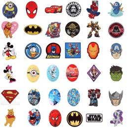Disney, Marvel & DC Comics Iron On Sew On Motif Applique
