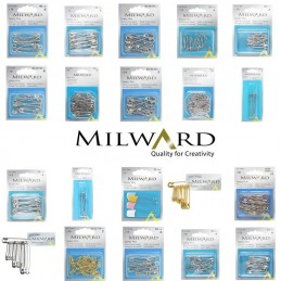 Milward Selection Of Safety Pins Dressmaking Craft Sewing