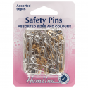 H415.99.96 Safety Pins: Assorted Value Pack - 96pcs