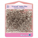 H418.2.150 Curved Safety Pins: Value Pack - 38mm - 150pcs
