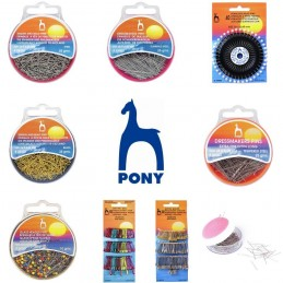 Pony Selection Of Pins & Safety Pins Dressmaking Sewing Craft