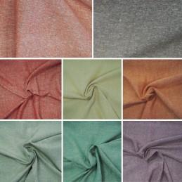 Plain Coloured 100% Silk Linen Look Upholstery Cushion Fabric