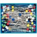Straight Glass Headed 48mm Pins 30g Box 029212