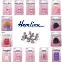 Hemline Selection Of Thimbles Sewing Quilting Leather