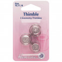 H222.A Thimble: Metal: 3 Assorted Sizes