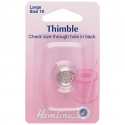 H222.L Thimble: Metal: Size 18, Large