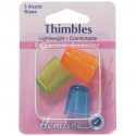 H226.A Light Weight 3 Assorted Sizes Thimbles