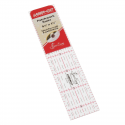 NL4155 Patchwork Ruler: 1.5 x 6.5 Inches