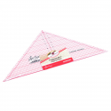 NL4172 Quilting Ruler: 90 Degree Triangle: 7.5 x 15.5 inch