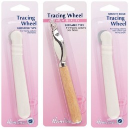 Hemline Tracing Wheel Smooth Or Serrated Dressmaking Sewing