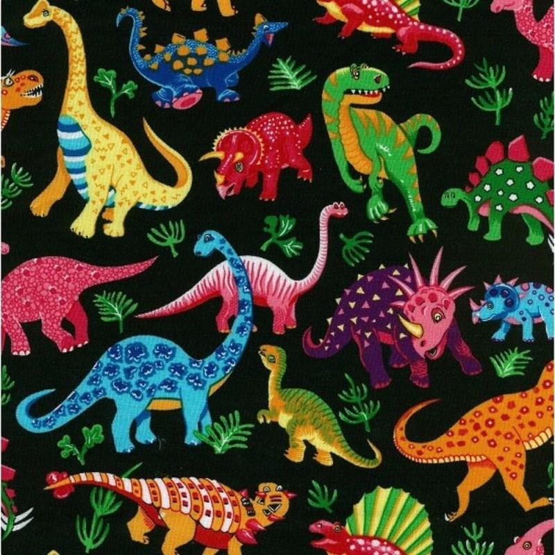 87550 101 Dinosaur Dance Black