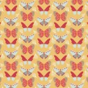 104 Butterflies on Yellow