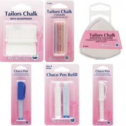 Hemline Tailors Chalk Dressmaking Sewing Clay Based