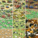 Nutex Funny Farm Field Days In the Country Collections 100% Cotton Fabric