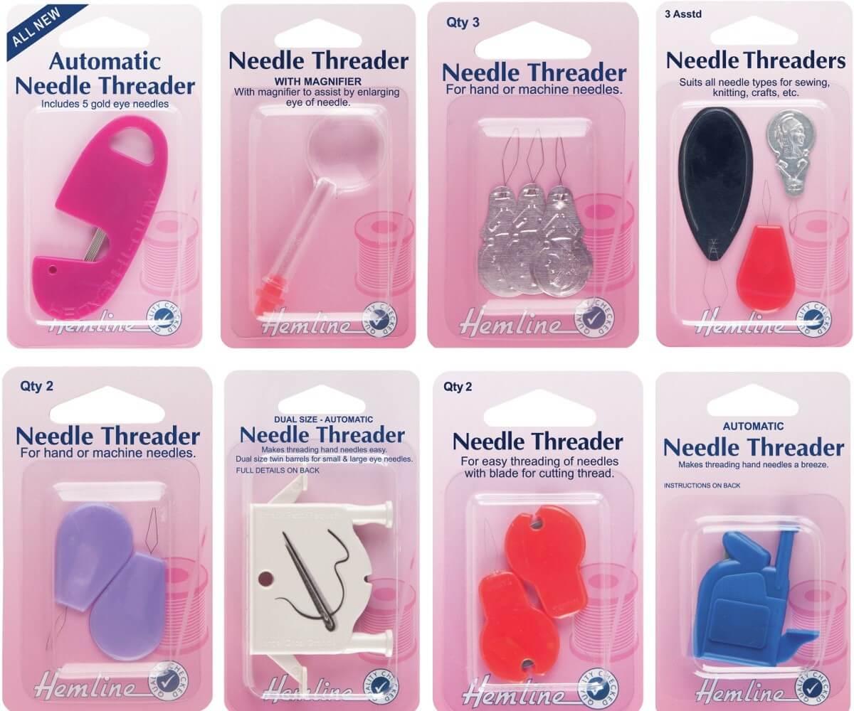 2. H232 3 x Needle Threader: Aluminium