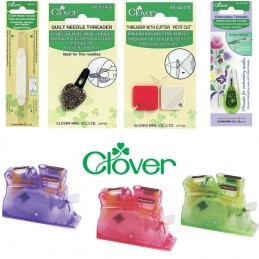 Clover Needle Threader Selection Sewing Embroidery