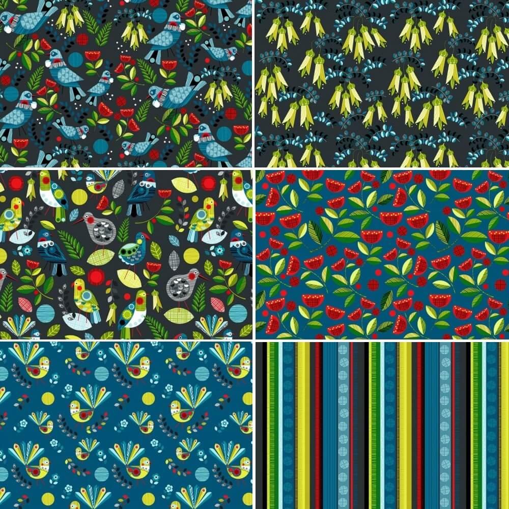 106 Fantail Birds