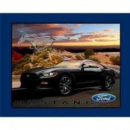 37390 102 Black Mustang Panel