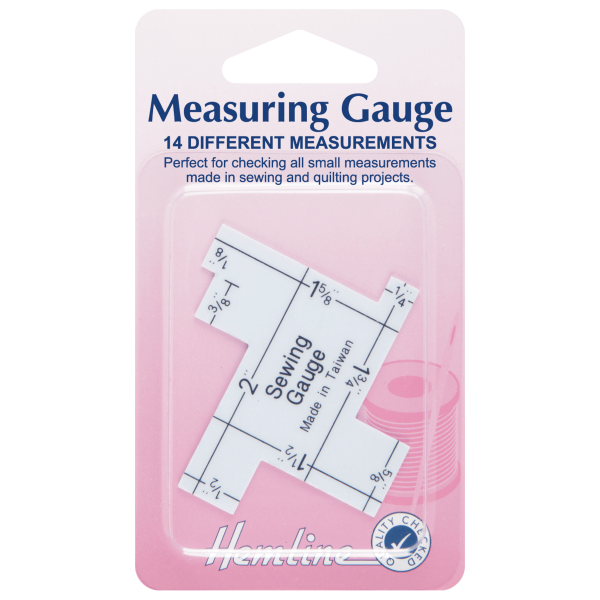 Sewing Measuring Gauge Set Imperial Inches