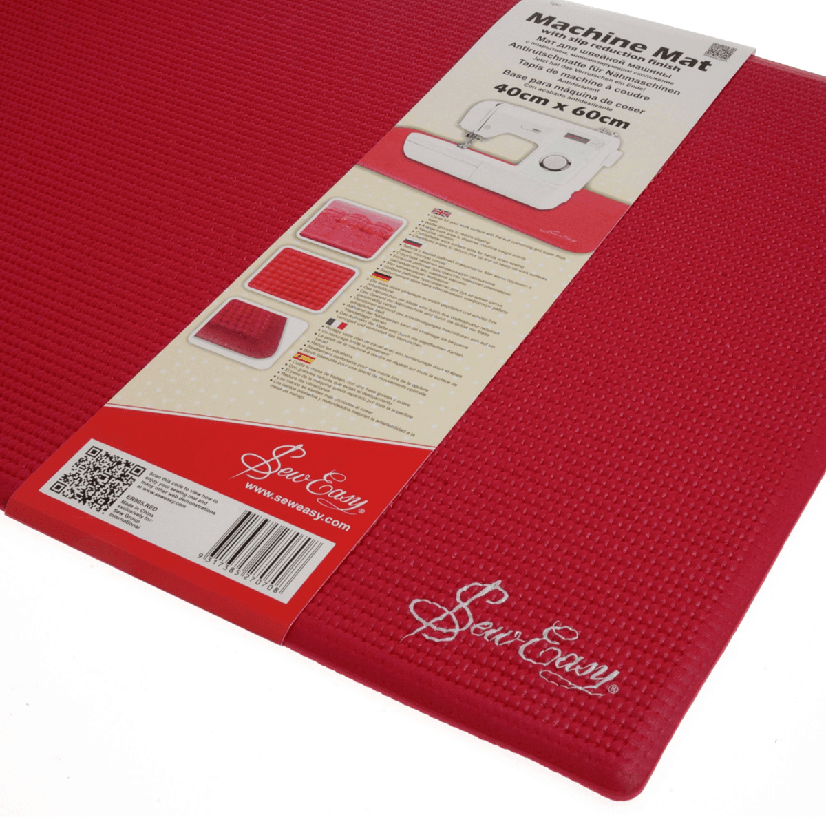 1. ER905.RED Sewing Machine Slip Reduction Mat
