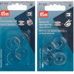 Prym Sewing Machine Plastic Bobbins