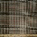Tartan Plaid Check Polyviscose Fabric 150cm Wide, 190 gsm All Ranges 85 Beige Tartan Dogtooth