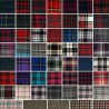 Tartan Plaid Check Polyviscose Fabric 150cm Wide, 190 gsm All Ranges