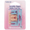 9. H163 Zipper Foot Roller Set Invisible