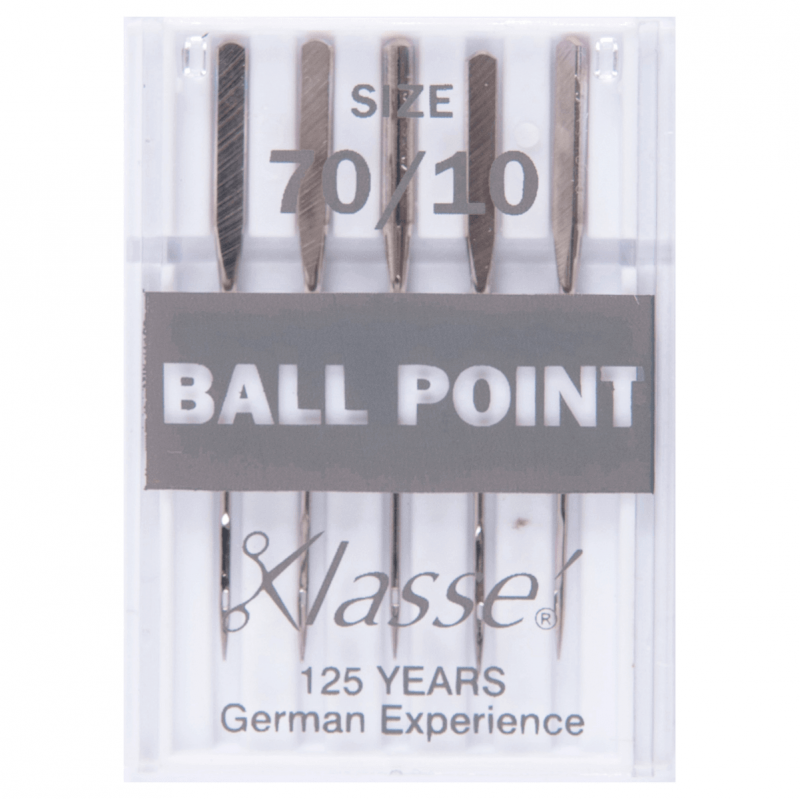 7. A6110.70 Sewing Machine Needles: Ball Point: 70/10: 5 Pieces