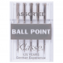 10. A6110.MIX Sewing Machine Needles: Ball Point: Assorted: 5 Pieces