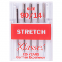 12. A6120.90 Sewing Machine Needles: Stretch: 90/14: 5 Pieces