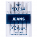 14. A6130.90 Sewing Machine Needles: Jeans: 90/14: 5 Pieces
