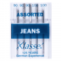 15. A6130.MIX Sewing Machine Needles: Jeans: Assorted: 5 Pieces