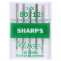 18. A6135.80 Sewing Machine Needles: Sharps: 80/12: 5 Pieces
