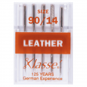 20. A6140.90 Sewing Machine Needles: Leather: 90/14: 5 Pieces
