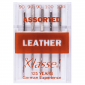 21. A6140.MIX Sewing Machine Needles: Leather: Assorted: 5 Pieces