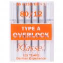 33. A6170.80 Overlocker Needles: Type A: 5 Pieces