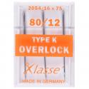 35. A6174.80 Overlocker Needles: Type K: 3 Pieces