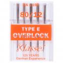 36. A6178.80 Overlocker Needles: Type E: 5 Pieces