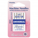 2. H100.110 Sewing Machine Needles: Universal: Heavy 110/18: 5 Pieces