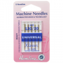 3. H100.120 Sewing Machine Needles: Universal: Heavy 120/20: 5 Pieces