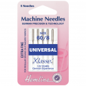 4. H100.60 Sewing Machine Needles: Universal: Extra Fine - Size 60/8: 5 Pieces