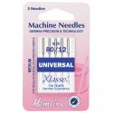 7. H100.80 Sewing Machine Needles: Universal: Medium 80/12: 5 Pieces