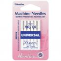 8. H100.90 Sewing Machine Needles: Universal: Medium/Heavy 90/14: 5 Pieces