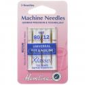 12. H100.T Sewing Machine Needles: Universal: Titanium: 3 Pieces